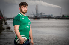 From back row to front row, Connacht's Tierney-Martin enjoying the journey