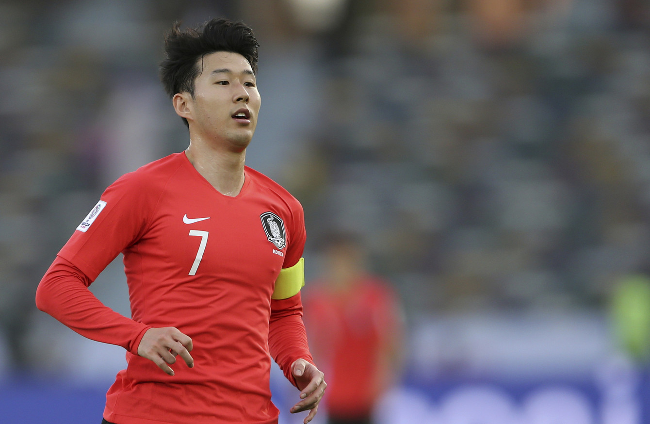the best attitude d89da dbced Early return for Tottenham star Son Heung-min as South Korea ...