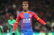 'There has been no dialogue': Hodgson responds as Zaha linked with €58 million Dortmund move