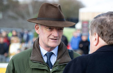 Champion trainer Mullins aims to continue his brilliant winning run at Fairyhouse