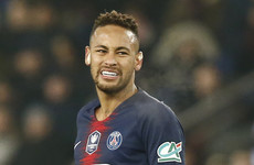 Neymar faces race to be fit in time for Man United Champions League clash
