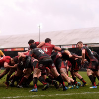 Munster dig in to win hard-fought battle at Rodney Parade in terrible conditions
