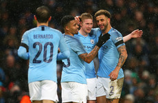 Kevin Long nets own goal as Man City hit Burnley for five in FA Cup hammering