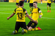 Dortmund score three goals in seven minutes to go nine points clear in Bundesliga