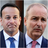 Drop in support for both Fine Gael and Fianna Fáil