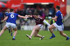 Five players sin binned during Galway's come-from-behind win over Cavan