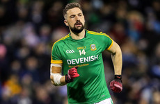 Mickey Newman points the way for Meath in victory against Tipperary