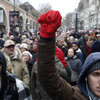 10,000 attend 'red scarf' march in Paris against 'yellow vest' violence