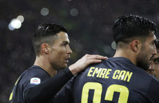 Ronaldo spares Emre Can's blushes as below-par Juve see off Lazio