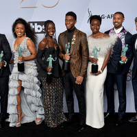 Black Panther scores top prize at Screen Actors Guild Awards