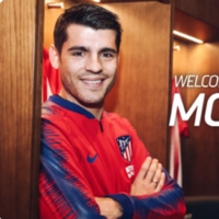 Atletico Madrid announce signing of Chelsea flop Morata