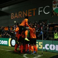 Non-league Barnet earn Brentford replay after six-goal FA Cup thriller
