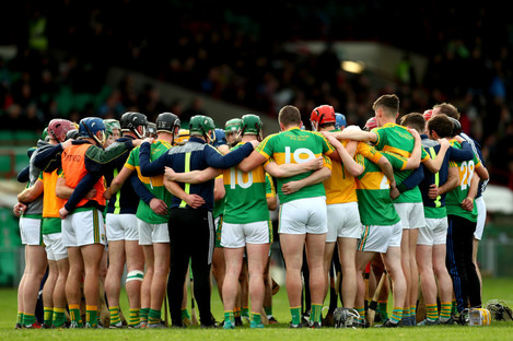 Clonoulty-Rossmore pictured before their Munster SHC semi-final against Na Piarsaigh in November.