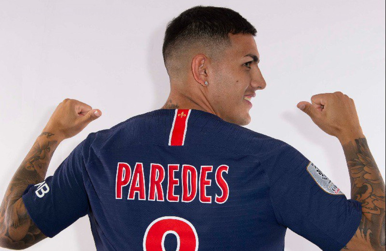 10f4a04a028 PSG sign €47m Argentine midfielder ahead of Champions League clash with Man  United
