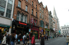 Dublin's Suffolk Street to be pedestrianised for six weeks starting Saturday
