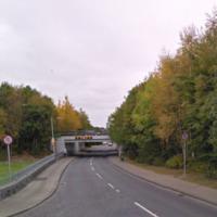 Around 10 children taken to hospital after school bus crashes into bridge in Dublin