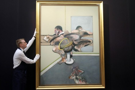 'Figure Writing Reflected in Mirror' by Francis Bacon sells for €34 million
