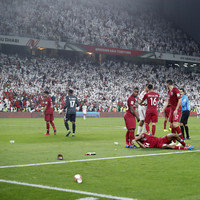Qatar book first-ever Asian Cup final berth but win marred by sandal-throwing UAE fans