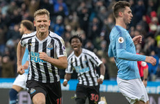 Unbelievable scenes as relegation-threatened Newcastle stun Man City to boost Liverpool's title hopes