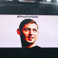 'Once a blue, always a blue' - Sombre Emirates unites in tribute to Emiliano Sala