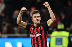 €35 million man enjoys full debut to remember as Milan beat Napoli to reach Coppa semis
