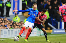 High-flying Ireland international Curtis nets 10th goal of the season for Portsmouth