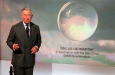 VIDEO: Watch Prince Charles present the weather on the BBC