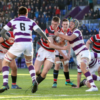 Clongowes take their chances to survive almighty Wesley test