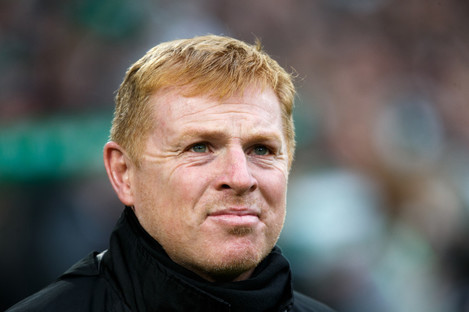 File photo of Neil Lennon in charge at Hibernian.
