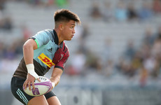 Quins 10 Smith and senior international Hill in England U20 team for Cork