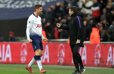 Llorente the unlikely hero as Spurs give themselves a sniff of the title race