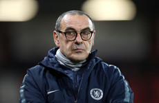 'Maybe it's my fault,' Chelsea boss Sarri fumes