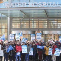 Psychiatric nurses begin overtime ban as INMO ends first 24-hour strike this morning