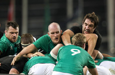 Lineout leader Devin Toner remains a key figure for Schmidt's Ireland