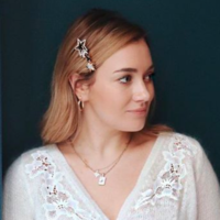 Goodbye statement earrings! The latest 'it' accessory is the answer to greasy fringe