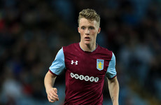 Young Irish midfielder leaves Aston Villa for League Two loan switch