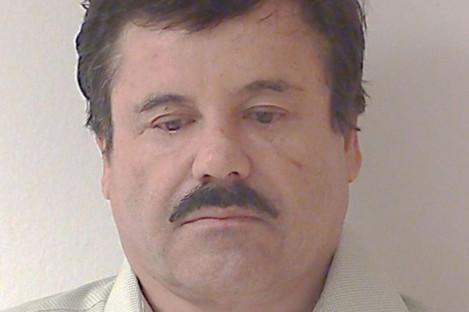 File mugshot of Joaquin 'El Chapo' Guzman from 2014.