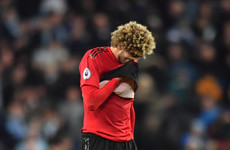 'Man United needed more from Fellaini' - China move no surprise to former team-mate