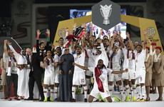 Record-breaking bicycle kick helps Qatar claim a first-ever Asian Cup