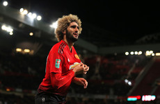 Fellaini leaves United for China after five-and-a-half-year Old Trafford stint