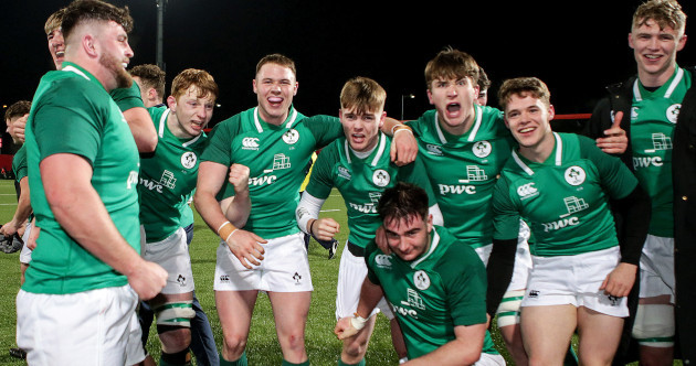 Ireland U20 show attacking intent to grab brilliant bonus point win over England