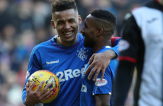 Rangers win four penalties in rout of St Mirren