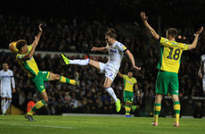 Norwich batter Leeds in top-of-the-table clash at Elland Road