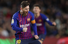 Messi genius rescues Barcelona in thriller against Valencia