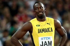 Usain Bolt matches NFL record for fastest 40-yard dash