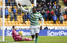 Super sub Tim Weah extends Celtic's Scottish Premiership lead
