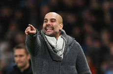 Pressure is on Manchester City, not Liverpool, insists Guardiola