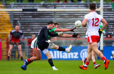Tyrone goalkeeper Niall Morgan scores superb point from play during league defeat to Mayo