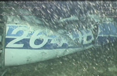'One occupant visible' in wreckage of Emiliano Sala plane