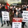 'Rats out of the HSE': Protesters want external probe into claims abortion details were leaked
